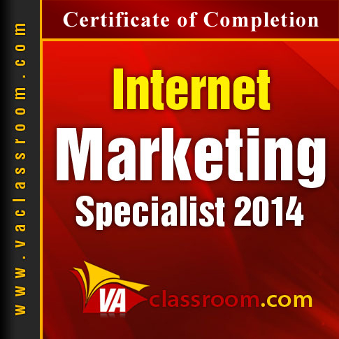 Internet Marketing Specialist 2014