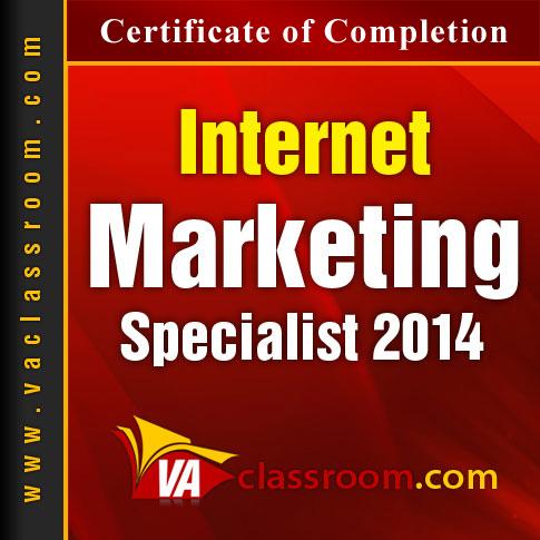 Internet Marketing Specialist 2014